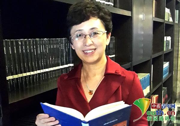 """合肥学院夏蓓洁:我是一名""""享受型""""的教育工作者"""
