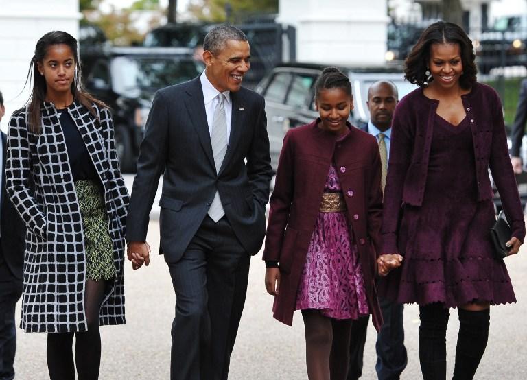 奥巴马夫妇21句教育箴言:作为父母 是他们的榜样图片