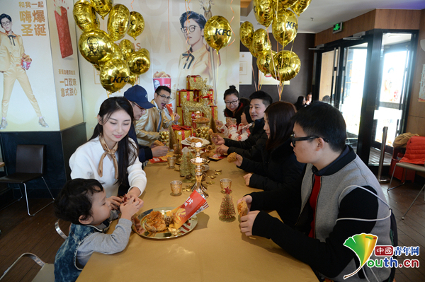 薯片脆皮鸡试吃活动在北京肯德基宣武门店火热举行-金色力量实力过