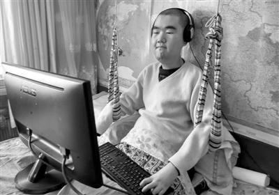 肌无力禁锢他24年,他却用爱发电为全运会辽篮写歌词