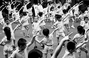 东城44所幼儿园探索控制儿童肥胖