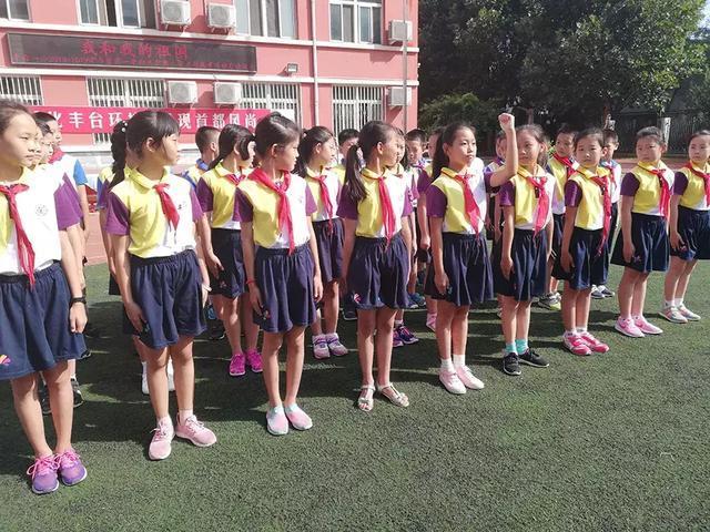 北京丰台中小学相继开学 学校放大招开启新篇