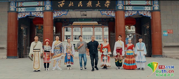 百所高校学子同唱《我爱你中国》刷爆朋友圈