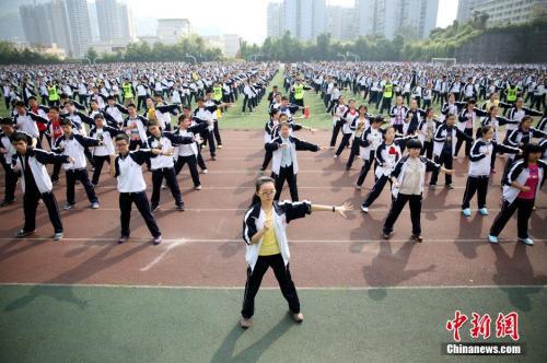教育部:全方位努力确保高中生每天锻炼一小时